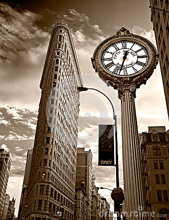 Flat Iron building. NYC. Editorial Stock Image
