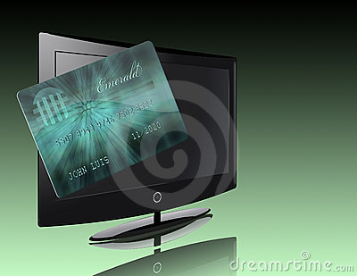 Flat Panel with credit