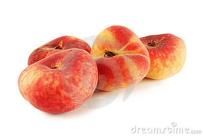 flat ripe peach Saturn