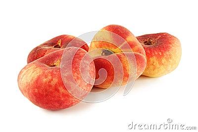 flat ripe peach Saturn