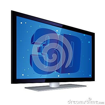 Flat Screen 3D TV EPS