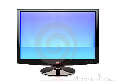 A flat screen TV