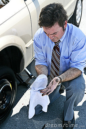 Flat Tire - Dirty Hands