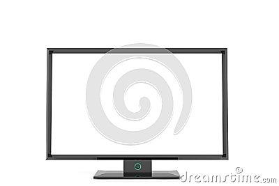 Flat tv display
