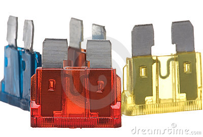 Flat Type Fuses Macro Isolated