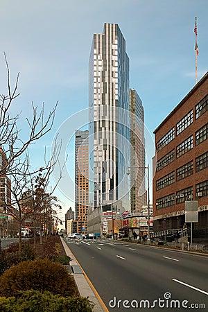 Flatbush Avenue, Brooklyn New York USA Editorial Photography