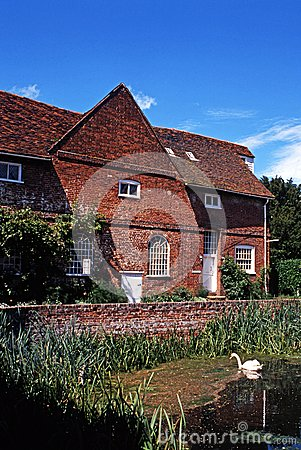 Flatford Mill, East Bergholt, UK.