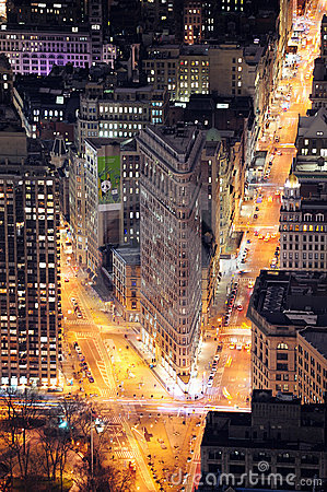 Free Flatiron Building In Manhattan New York City Stock Images - 19215594