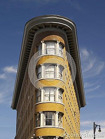 Flatiron Building - Vancouver - Canada Editorial Stock Photo