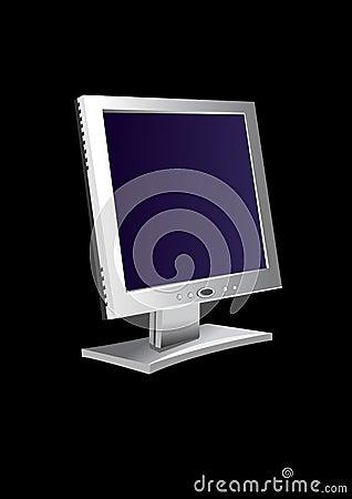 Flatscreen monitor