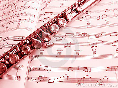 Flauta e contagem da música