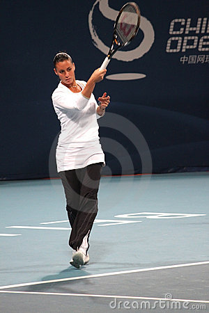 Flavia Pennetta (ITA), professional tennis player Editorial Photography