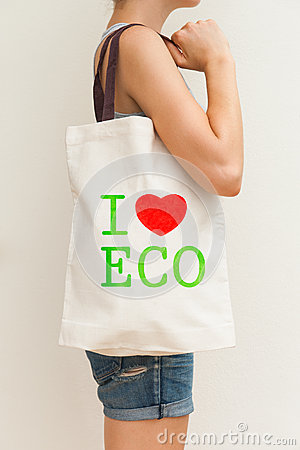 Flax eco bag