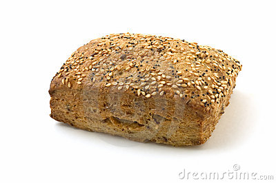 Flax loaf with sesame and poppy seeds