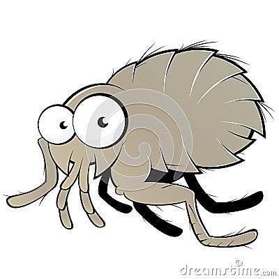 Flea illustration
