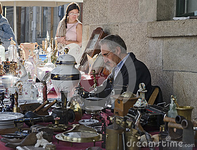 Flea Market Editorial Photography