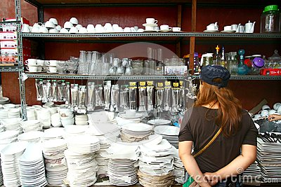 Philippines Selling Houseware And Home Decor Editorial Stock Photo