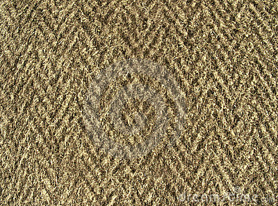 Fleecy fabric texture - thick brown woolen cloth