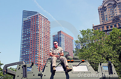 Fleet week. Editorial Stock Photo