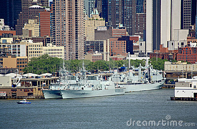 The Fleet Week New York 2008 Editorial Image