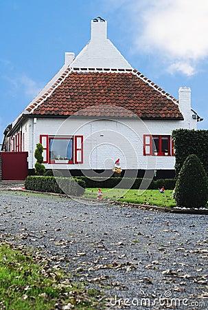 Free Flemish Polder Farmhouse Stock Image - 19724951