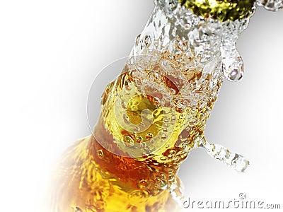Fles bier