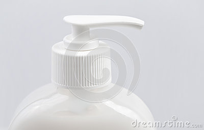 Fles van vloeibare zeep