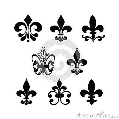 Fleur De Lis Vector Illustration Cartoondealercom 15627594