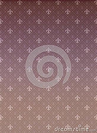 Fleur-de-Lis Allover Pattern