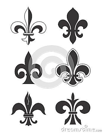 Free Fleur De Lis - Vector Royalty Free Stock Image - 1105566