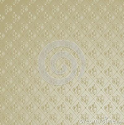 Free Fleur De Lis Wallpaper Background. Stock Photography - 7503122