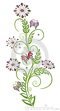 Fleurs, élément floral