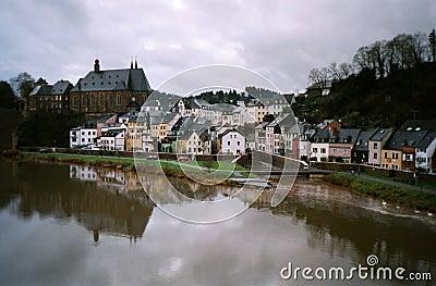 Fleuve la Sarre, Allemagne
