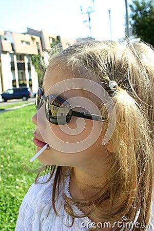 Flickan med skuggar