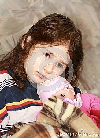 Flickasorgsenhet