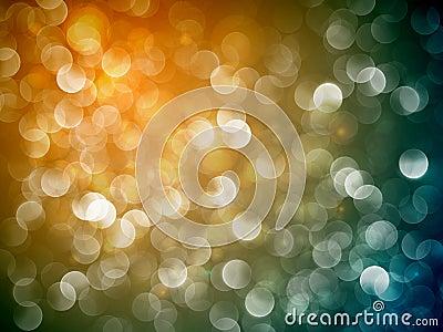 Flickering Lights   Christmas Background