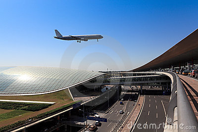 Flight arrival in beijing T3