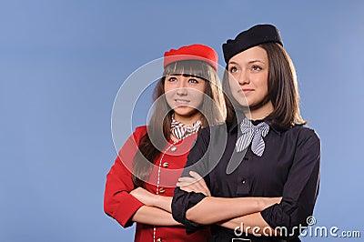 Flight attendantes