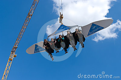 Flight of the attraction Editorial Image