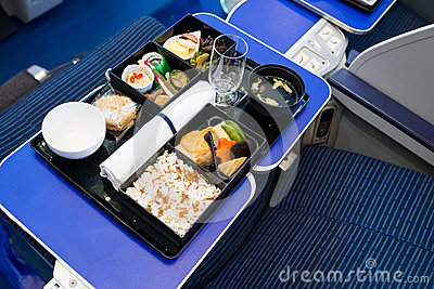 In-flight catering