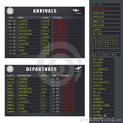 Flight Information - Set 2 - Cancelled Flights