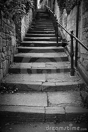 Free Flight Of Stone Steps Royalty Free Stock Photo - 18781165