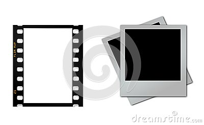 Flim Strip with Poloraid frame