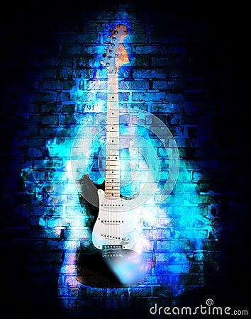 Free Flime Guitare Stock Photo - 23611220