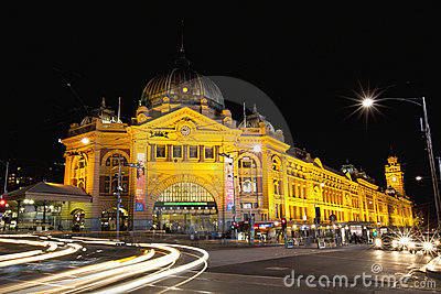 Flinders Street Station Editorial Image
