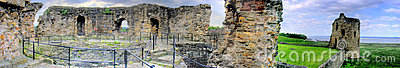 Flint Castle - Panorama