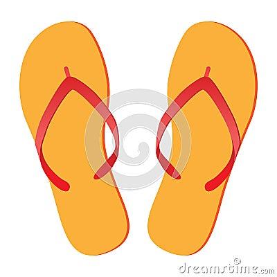 Free Flip-flops Royalty Free Stock Photos - 24028928