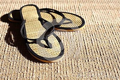 Flip-Flops On Jute