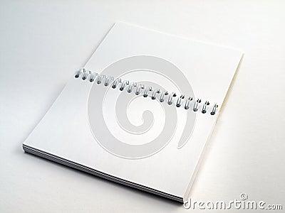 Flip note book open 1