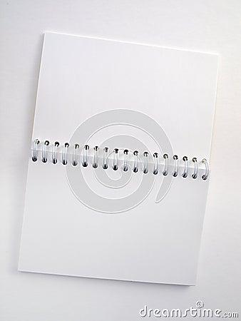 Flip note book open 2